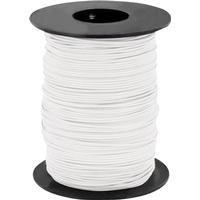 BELI-BECO Flätad kabel 1 x 0.25 mm² Vit BELI-BECO L125WS25 25 m