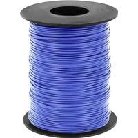 BELI-BECO Flätad kabel 1 x 0.25 mm² Blå BELI-BECO L125BL50 50 m