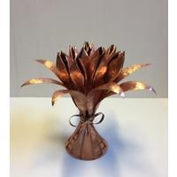 Tulipanbuketten Kobber 55 cm