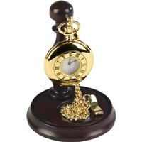 Woodford Gold Plated Pocket Watch Complete With Presentation Stand 1926