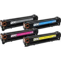 Fri frakt HP 201X Set (CF400X + CF401X + CF402X + CF403X) 9700 sidor. Kompatibla (ej HP original) tonerkassetter. Fri Frakt!