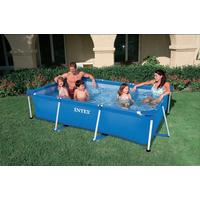 uppblåsbar pool rektangulär