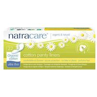 Natracare Organic Cotton Panty Liners Ultra Thin 22-pack