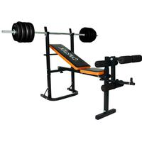 Gymstick Weight Bench With Barbell Set 40kg
