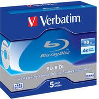 Verbatim BD-R 50GB 6x Jewelcase 5-Pack