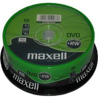 Maxell DVD+RW 4.7GB 4x Spindle 25-Pack