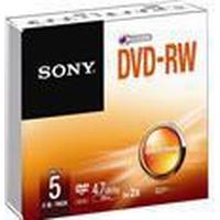 Sony DVD-RW 4.7GB 2x Jewelcase 5-Pack