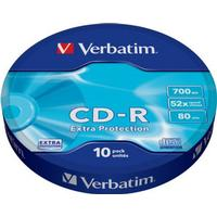 Verbatim CD-R 700MB 52x Spindle 10-Pack