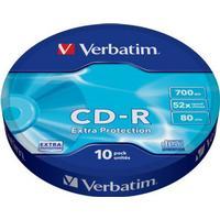 Verbatim CD-R 700MB 52x Spindle 10-Pack