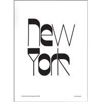 Olle Eksell New York 50x70cm Affisch