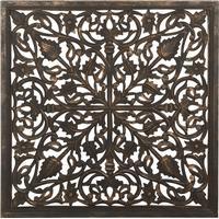 Affari Carve Great Temple Picture 90x90cm