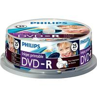 Philips DVD-R 4.7GB 16x Spindle 25-Pack Inkjet