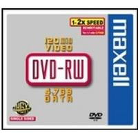 Maxell DVD-RW 4.7GB 2x Jewelcase 5-Pack