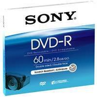 Sony DVD-R 2.8GB 2x Jewelcase 5-Pack 8cm
