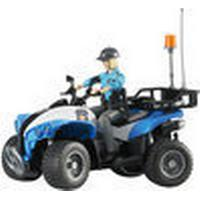 Bruder Police Quad with Policewoman & Accessories