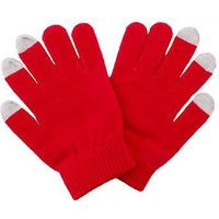 MTU Touch Gloves one size Red