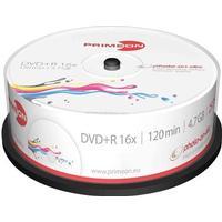 Primeon DVD+R 4.7GB 16x Spindle 25-Pack Inkjet