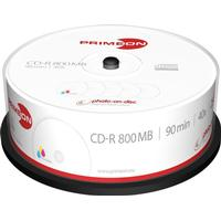 Primeon CD-R 800MB 40x Spindle 25-Pack