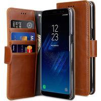 Melkco Mini PU Leather Wallet Book Clear Type Case (Galaxy S8 Plus)
