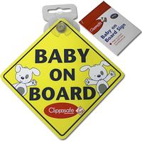 Clippasafe Baby On Board Skylt
