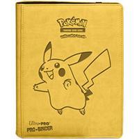 Pokémon pärm, premium pro-binder, pikachu - 9 pocket a4