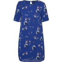 Vero Moda Flower Dress Blue/Surf the Web (10191434)