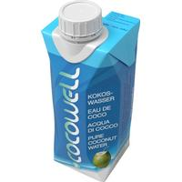 Cocowell Organic Coconut Water 330ml
