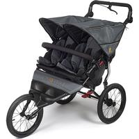 Out 'n' About Out n About Nipper Double Sport Stroller - Steel Grey