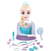 Just Play Disney Frozen Deluxe Elsa Styling Head Doll