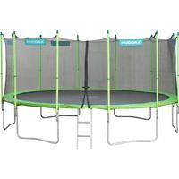 Hudora Family Trampoline + Safety Net 480cm