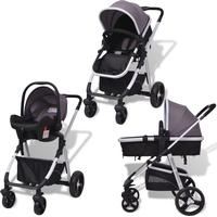 vidaXL 3-in-1 Pushchair (Duo) (Travel system)