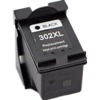 Miljöpatron till HP 302XL (F6U68AE) svart 8.5ml