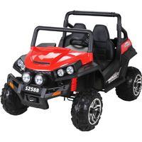 Maverick Offroad Buggy XL 4x4 2-sits Barn elbil Röd