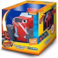 Blaze & The Monster Machines Official Childrens/Kids Illumi-Mates Bedside Lamp