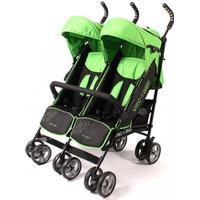 Chic 4 Baby Zwillingsbuggy Momo green stars grün - Kollektion 2017