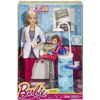 Mattel Barbie Careers Dentist Doll & Playset