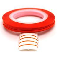Striping tejp / Nageltejp / Nail strips Orange