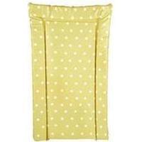 Kit for Kids White Polka Dot Beige Changing Mat