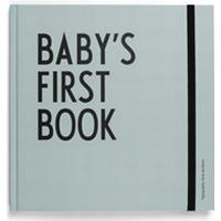 Design Letters - Babybog - Baby's First Book - Tyrkis