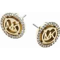 Michael Kors Heritage Stainless Steel Gold Plated Earrings (MKJ2941710)