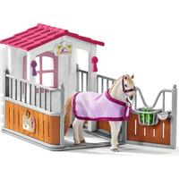 Schleich Horse Stall with Lusitano Mare 42368