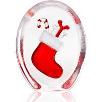 Maleras Christmas Sock 10cm Julpynt Skulptur