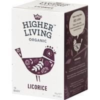 Higher Living Licorice Tea 15 Tepåsar