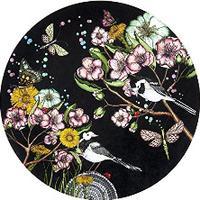 Nadja Wedin Wagtails Spring Grydeunderlag 21 cm