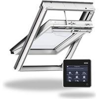 Velux MK04 GGU 007021 Aluminium Drej/kip vindue 78x98cm