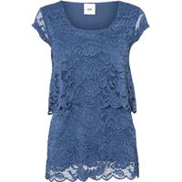 Mama.licious Lace Nursing Top Blue/Dark Denim (20007914)