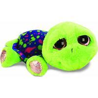 Suki Fun Li'l Peepers Neon Green Turtle with Splatter Shell Medium 11119