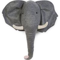 Childhome Djurhuvud till Vägg, Elefant/Filt