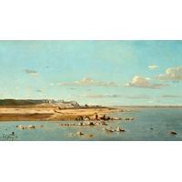 Wäscherinnen am Ufer der Durance, Paul Guigou von Liszt Collection
