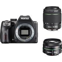 Pentax K-70 + 18-50mm + 50-200mm